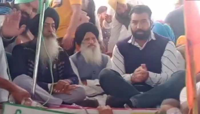 Lakha Sidhana, accused in Republic Day violence in Delhi, spotted at farmers' rally in Bathinda