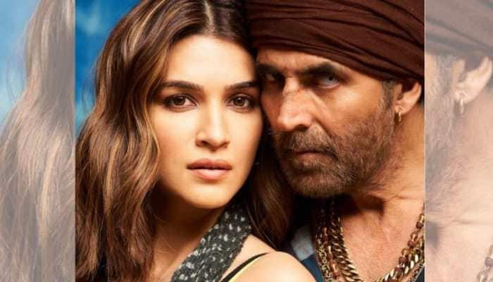 Kriti Sanon wraps up shoot for Bachchan Pandey, drops pic with Akshay Kumar