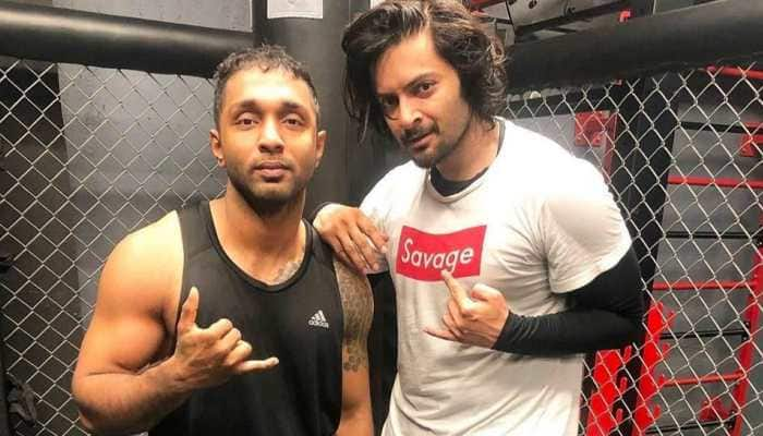 Ali Fazal takes to kickboxing, trains with famous fitness MMA coach Rohit Nair