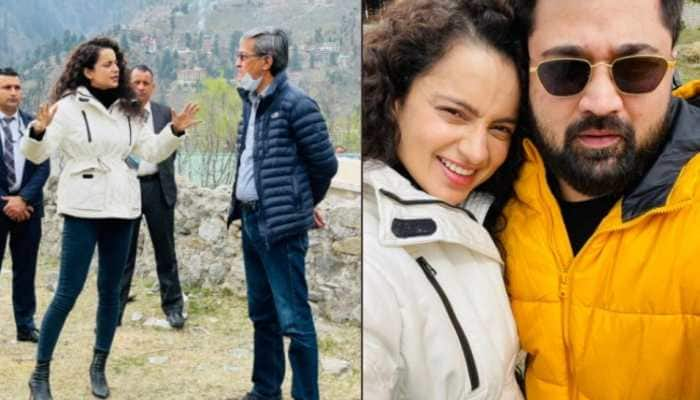 Kangana Ranaut to open cafe in Manali, shares on-site pics!