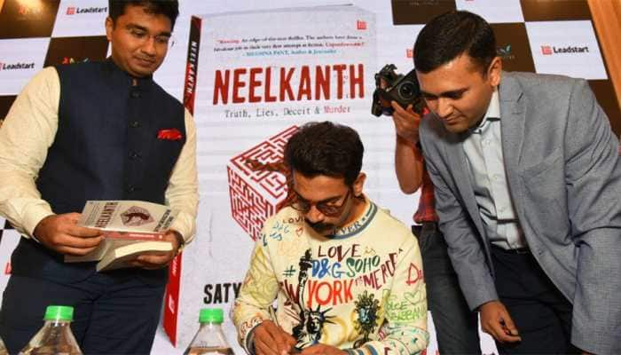 Bollywood Superstar Rajkummar Rao launches 'Neelkanth' by IRS Officers, Satyam Srivastava and Rajeev Garg