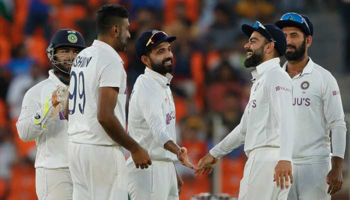 IND vs ENG: Ashwin, Axar lead England's carnage as India script massive 10-wicket win in pink-ball Test