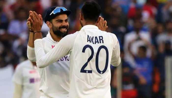 India vs England: Virat Kohli passes compliment to Axar Patel in Gujarati style, watch