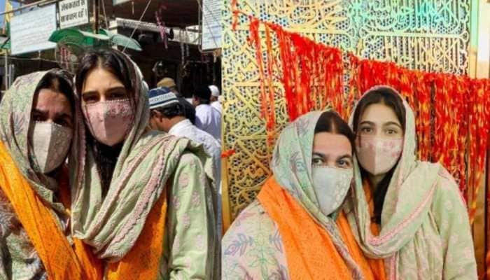 Sara Ali Khan, mom Amrita Singh offer prayers at Ajmer Sharif Dargah- In pics