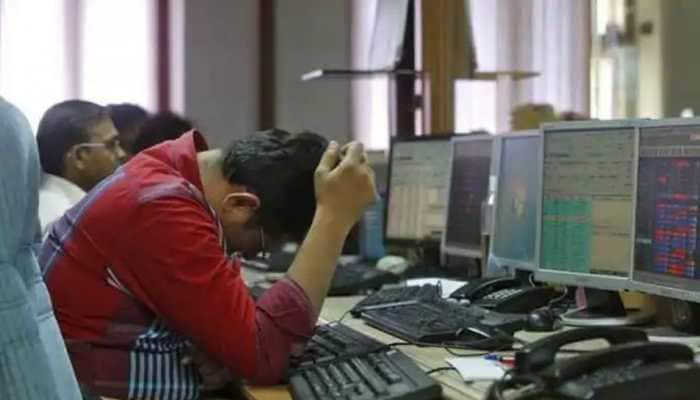 Stock market bloodbath, Sensex crashes over 1,900 points, Nifty tanks 568 points