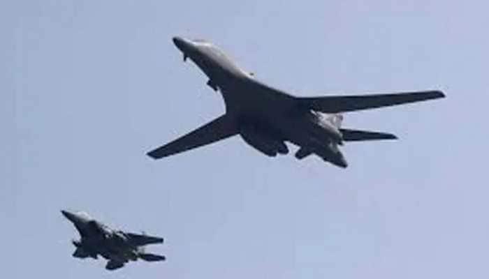 US air strikes target 'Iranian-backed militia' sites in Syria, says Pentagon