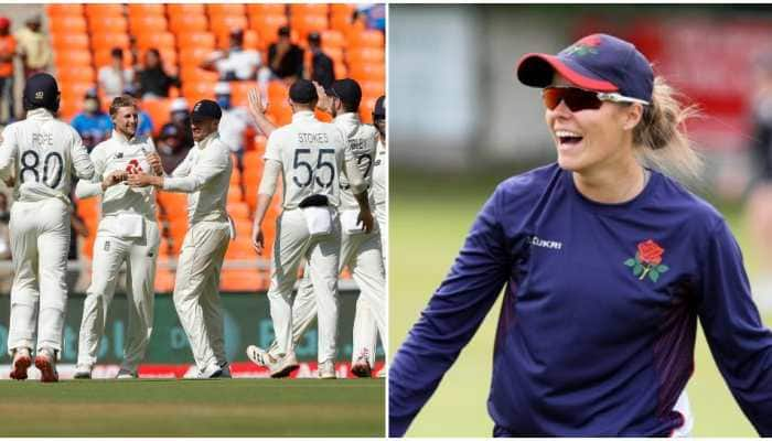 Female cricketer Alexandra Hartley trolls England after pink-ball Test defeat, Rory Burns hits back