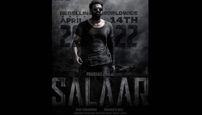 Prabhas and Shruti Haasan 'Salaar' release date revealed!
