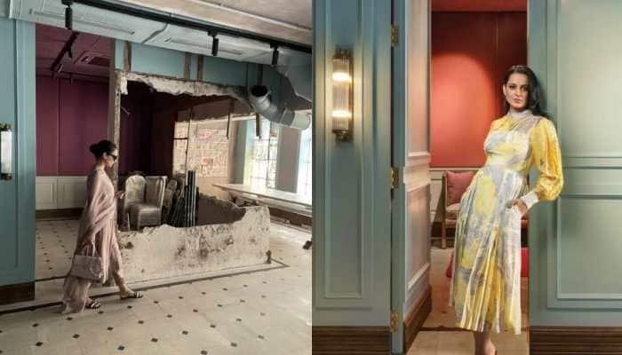 Kangana Ranaut heartbroken again, shares before and after photos of demolished Mumbai office