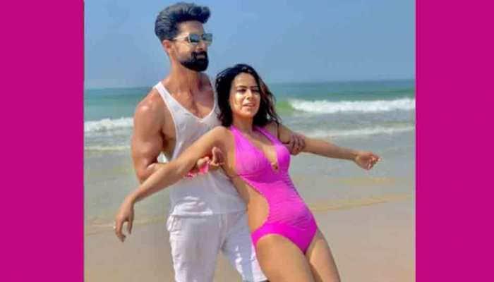 TV actor Ravi Dubey shares dramatic fight scene with Jamai Raj 2.0 co-star Nia Sharma, see video