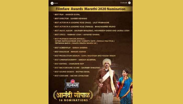 Zee Studios enjoys clean sweep at Planet Marathi Filmfare Awards Marathi 2020