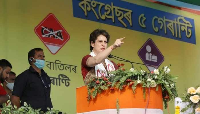 Will implement law to nullify CAA if voted to power, says Priyanka Gandhi Vadra in Assam