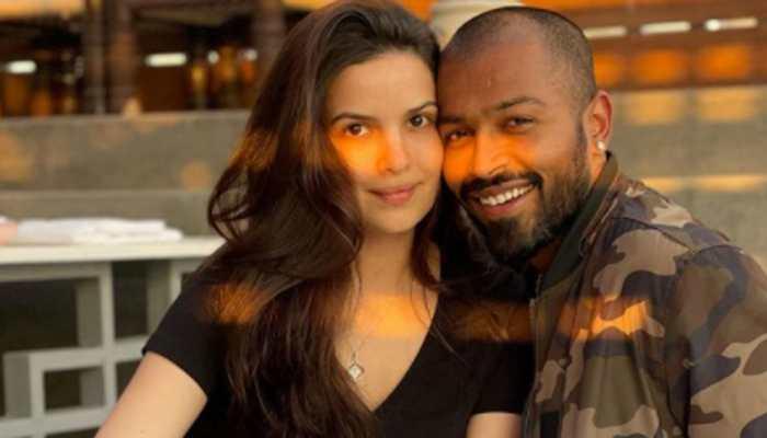 On ladylove Natasa Stankovic's birthday, cricketer Hardik Pandya shares loved-up romantic pics!