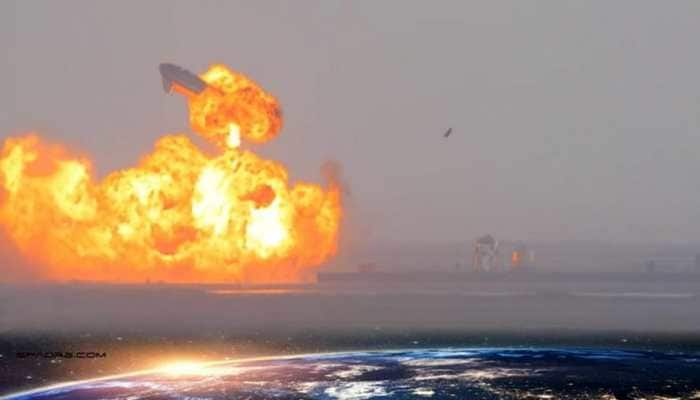 SpaceX's Starship SN-10 prototype explodes after safe landing