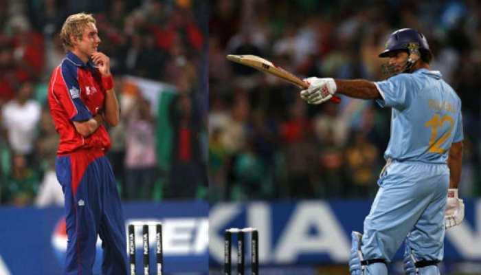 Yuvraj Singh and Ravi Shastri, the Indians in Kieron Pollard's 'six sixes' club