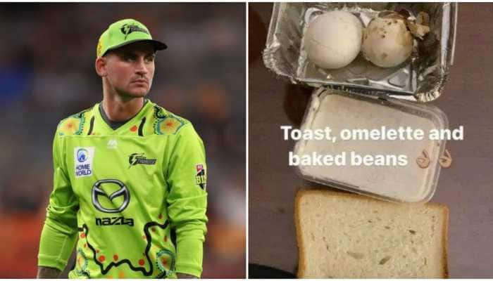 Alex Hales takes a dig at PSL organisers, shares picture of poor-quality food