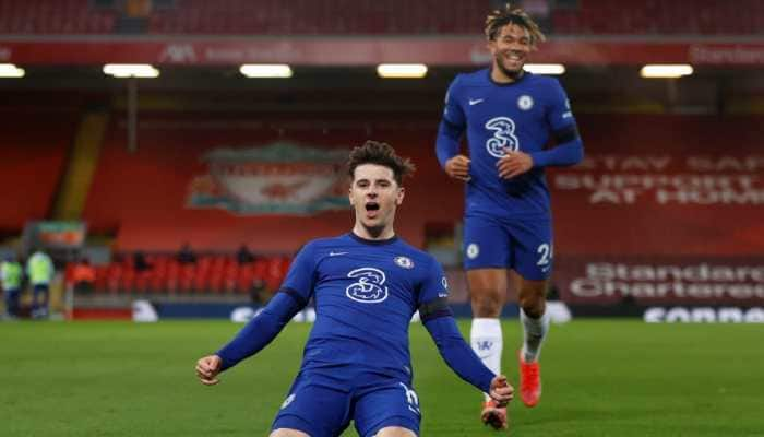 English Premier League: Mason Mount strike lifts Chelsea past toothless Liverpool