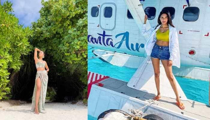 TV actress Erica Fernandes raises hotness bar in Maldives, poses in a bikini - Pics inside!