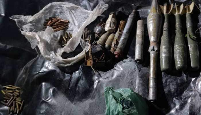 J&K: Ammunition and explosives recovered from hideout in Reasi district, one arrested