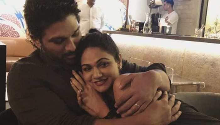On south superstar Allu Arjun and Sneha Reddy's 10th wedding anniversary, fans trend #Pushpa online!