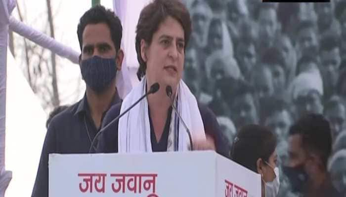 Why are farmers protesting at borders if farm laws benefited them?: Priyanka Gandhi Vadra at Kisan Mahapanchayat