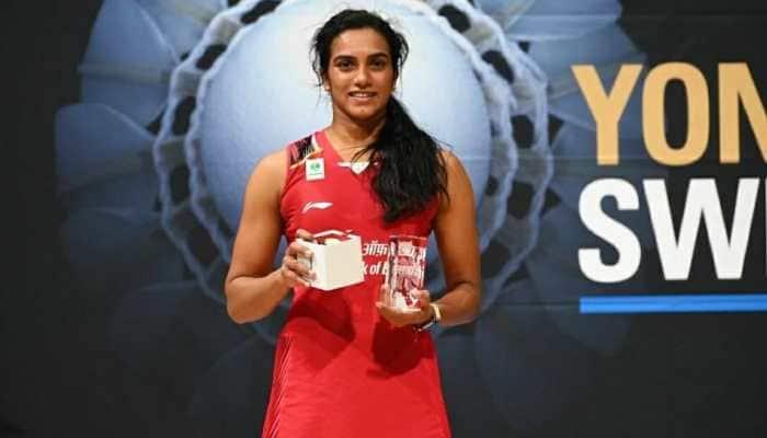 PV Sindhu suffers crushing defeat to Carolina Marin in Swiss Open final