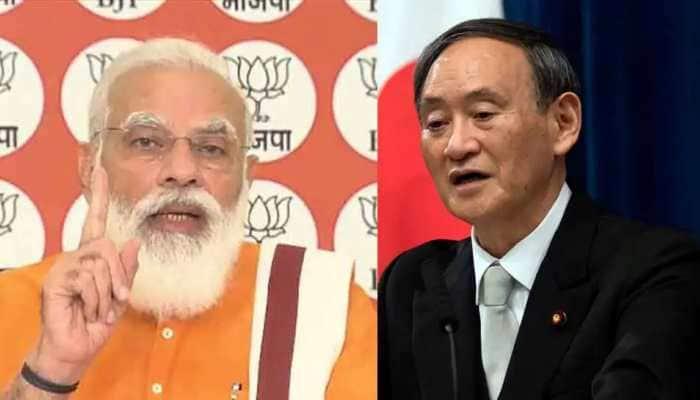 With Quad in focus, PM Narendra Modi, Japan PM Suga Yoshide hold talks over phone