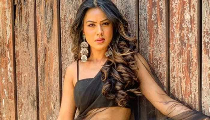 Nia Sharma breaks into an impromptu dance while shooting, video hits viral button - Watch