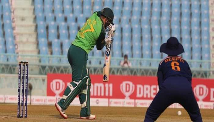 Ind W vs SA W: Lizelle Lee shines as South Africa win 3rd ODI by six runs (D/L method)