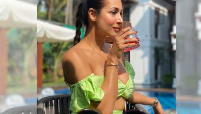 Malaika Arora sets the internet on fire with her 'beach bum' pic