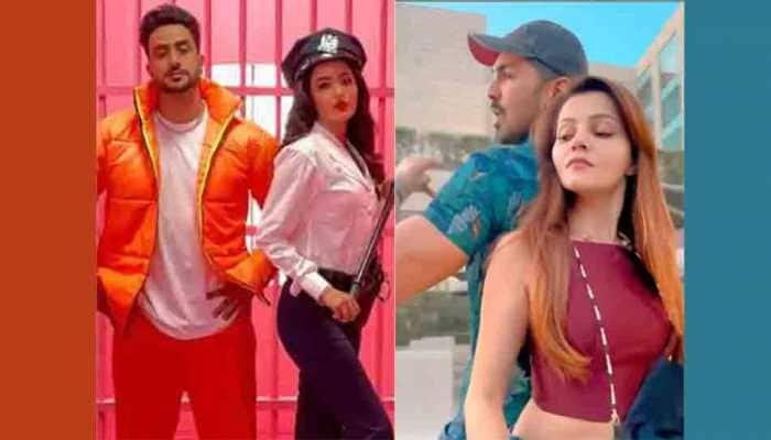 Jasmin Bhasin, Aly Goni react to Rubina Dilaik-Abhinav Shukla's recreation of 'Tera Suit' song video