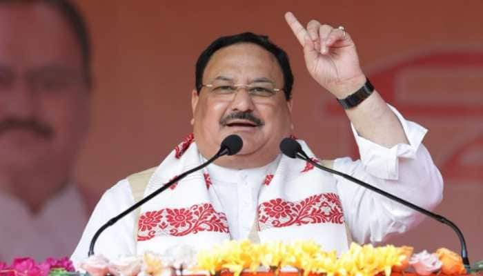 Congress believes in 'Latkaana, Atkaana, Bhatkaana', says BJP President JP Nadda in Assam