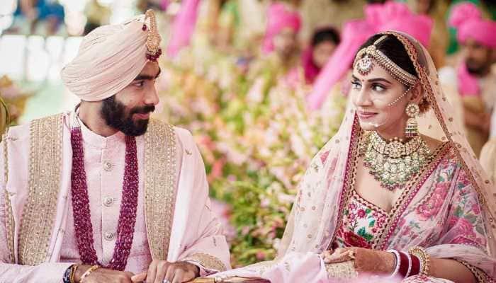 Jasprit Bumrah-Sanjana Ganesan wedding: Mayank Agarwal goofs up in wishing teammate, tags THIS person