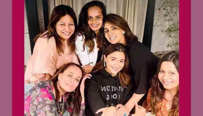 Neetu Kapoor shares special moment with Alia Bhatt, mommy Soni Razdan joins the club