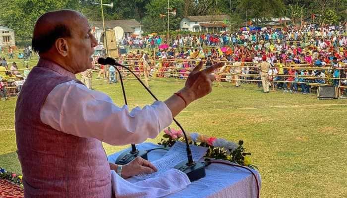 Mamata Banerjee's attack allegations reveal desperation: Union Minister Rajnath Singh