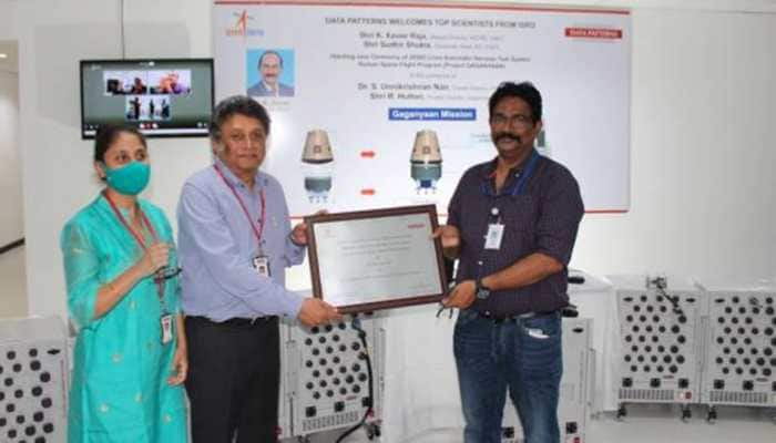 ISRO Gaganyaan: Indian private firm delivers component for crew module