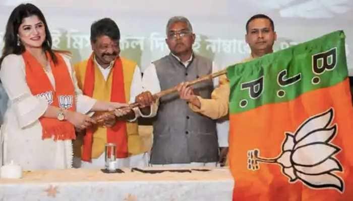 BJP fields actor Srabanti Chatterjee against TMC veteran Partha Chatterjee in Behala West