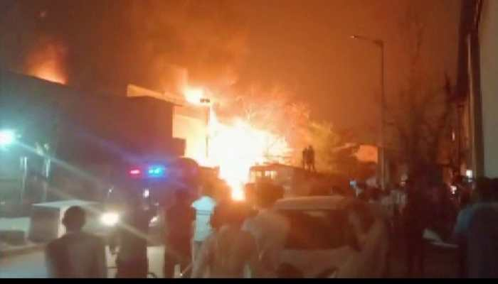Fire at plastic factory in Ahmedabad, 46 fire tenders pressed into service