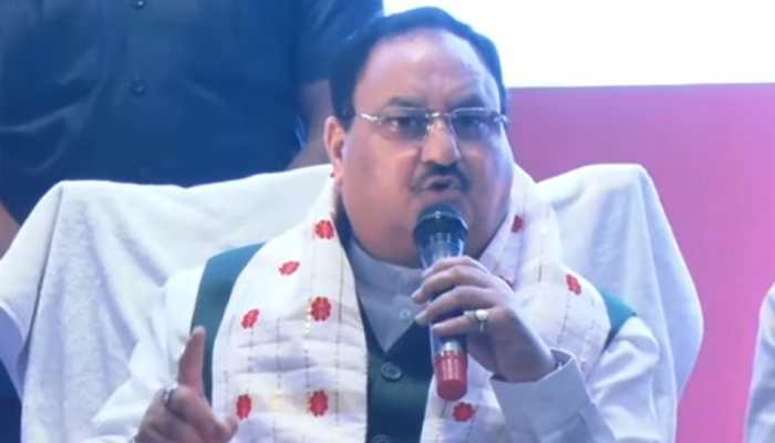 BJP Chief JP Nadda releases party's manifesto for Assam, makes 10 commitments