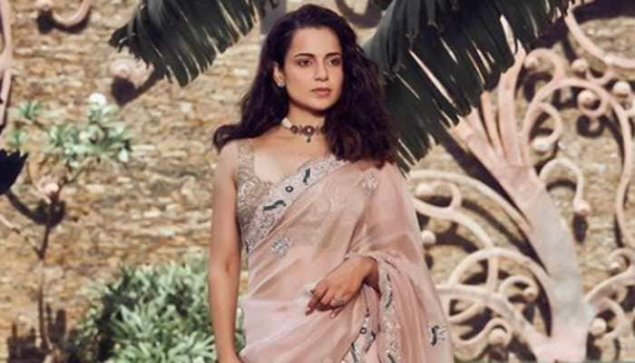 Kangana Ranaut gets teary-eyed at 'Thalaivi' trailer launch