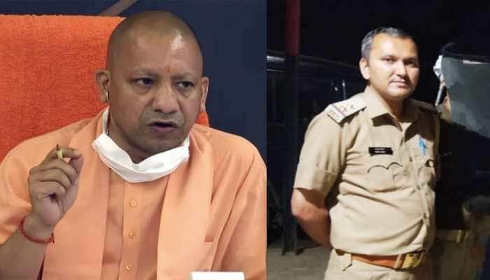 UP sub-inspector trying to resolve property dispute shot dead in Agra, CM Yogi condoles death, announces Rs 50 lakh ex- gratia