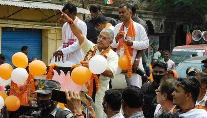 Bengal BJP chief Dilip Ghosh's alleged 'wear Bermuda remark sparks outrage, TMC calls it 'distasteful'