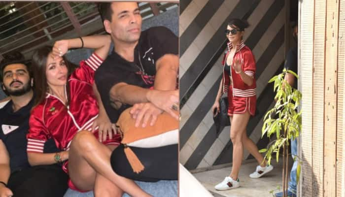 Fashion Face-off: Malaika Arora and Jacqueline Fernandez step out in red-hot athleisure - Who wore it better