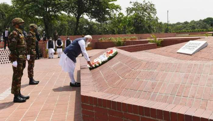 PM Modi pays homage to Bangladesh war martyrs, says 'They devoted their lives resisting injustice'