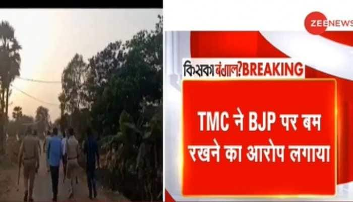 West Bengal first phase Election 2021: Five injured in blast at TMC office, BJP alleges conspiracy