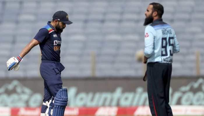 Ind vs Eng 2nd ODI: Adil Rashid makes Virat Kohli his bunny
