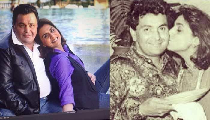 Neetu Kapoor remembers late husband Rishi Kapoor on Holi, shares unseen throwback pic with Amitabh Bachchan!