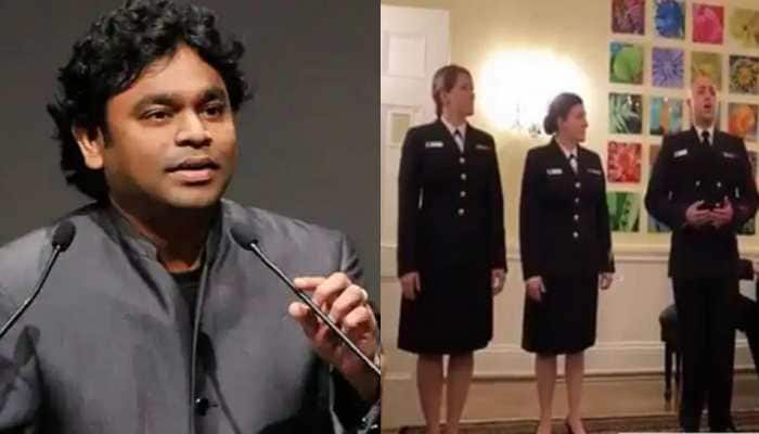 Shah Rukh Khan's Swades song sung by US Navy personnel goes viral, AR Rahman reacts