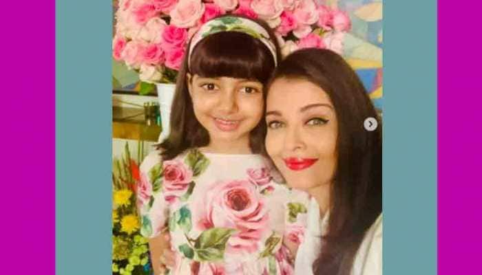 Aishwarya Rai Bachchan shares Holi celebration pic with daughter Aaradhya, offers look at her grand bungalow