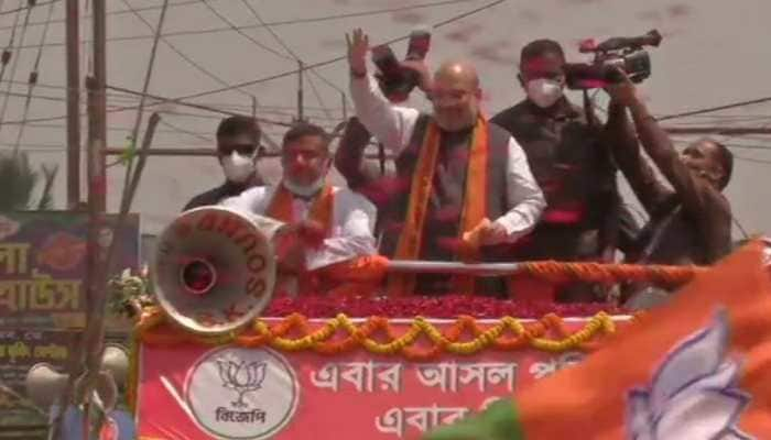 Exclusive: Why is didi mum on political violence in West Bengal, questions Amit Shah in Nandigram road show